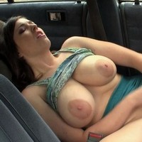 Amber toys in  a car