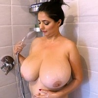 Lara Jones showers