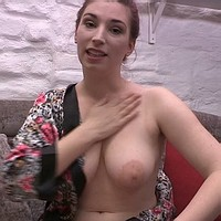 Ross lotions her tits