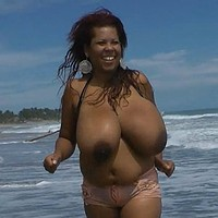 Big bouncy beach titties