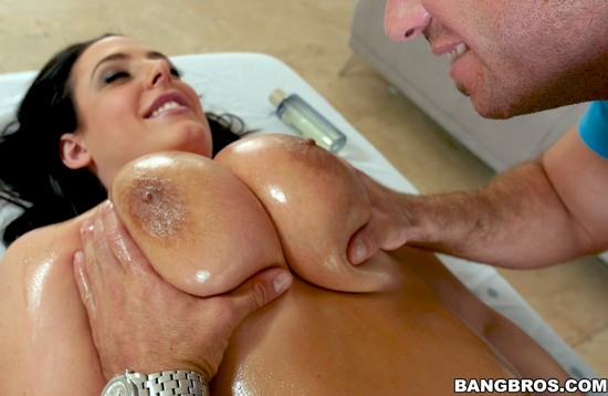 Angela White Happy Ending Big Tits Round Asses