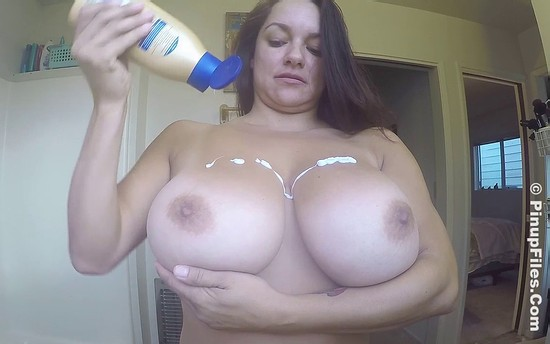 Monica Mendez Lotion Pinup Files
