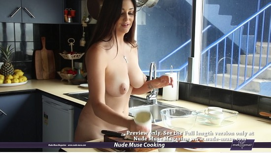 Scarlet Morgan Cooking Naked Nude Muse